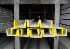 High Quality Hot Rolled Steel U Channel C Channel (ZL-UC) pictures & photos