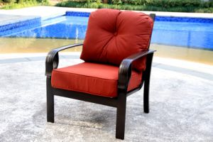 Garden Stationary Sofa Chair Furniture with Cast Aluminum pictures & photos