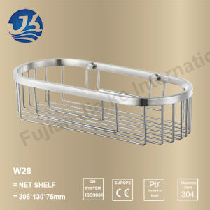 Bathroom Set Stainless Steel Net Shelf (W28) pictures & photos