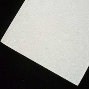 White Vinyl Covered Gypsum Ceiling Board pictures & photos