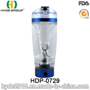 600ml Portable Plastic Vortex Protein Shaker Water Bottle, BPA Free Electric Protein Shaker Bottle pictures & photos