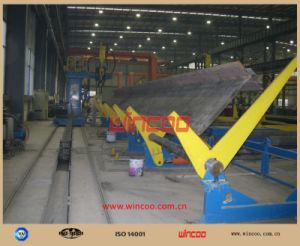 Turning Device for Steel Structure Fabricaiton/Automatic Turning Device for Steel Fabrication pictures & photos