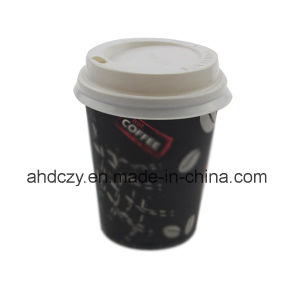 Top Quality 7oz Plastic Cup Cover for Coffee pictures & photos