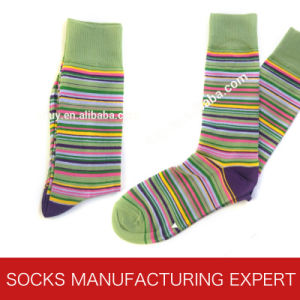 Comb Cotton Funny Socks for Men pictures & photos