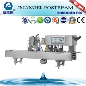Effect Assurance Automatic Drinking Water Cup Sealing Machine pictures & photos