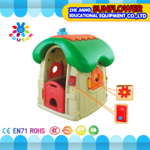 Mushroom Play House Kids Plastic Playhouse Indoor Playground Equipment (XYH-0160) pictures & photos