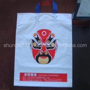 Plastic PE Handle Shopping Bag pictures & photos