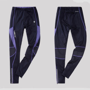 Men′s Polyester Jogging Gym Pants with Printed Logo pictures & photos
