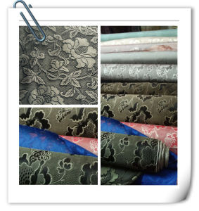 Silk Yarn-Dyed Jacquard pictures & photos