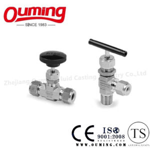 Stainless Steel Needle Valve with High Pressure pictures & photos