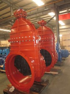 Resilient Seated Gate Valve, Awwa Class150, Epicyclic Gearbox pictures & photos