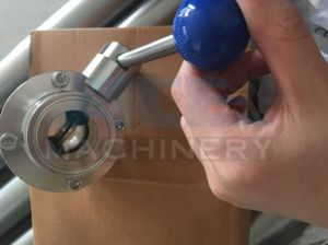 Sanitary Stainless Steel Tri Clamp Pneumatic Butterfly Valve (ACE-DF-G6) pictures & photos
