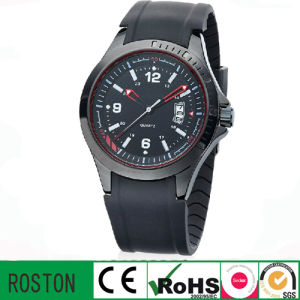 Analog Quartz Movement Promotion Men Wist Watch pictures & photos