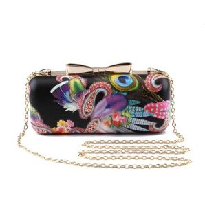 Fashionable Printing Butterfly Women Party Evening and Clutch Bag (XW0935) pictures & photos