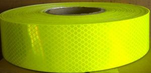 Fluorescent Yellow DOT Reflective Tape for School Bus (CTP-100L) pictures & photos