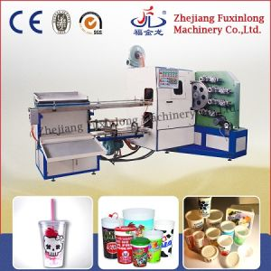 Fjl-4A Four -Color Curved Surface Printing Machine pictures & photos