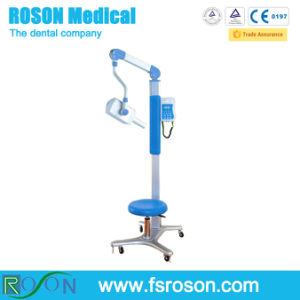 Blue Colour Mobile Dental X-ray Unit Machine