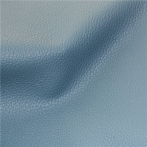Genuine Leather Feeling Microfiber PU Leather for Home Furniture (666#) pictures & photos