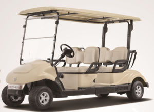 China Best 4 Seater Electric/Battery Operated Golf Car by Dongfeng, CE Certificate pictures & photos