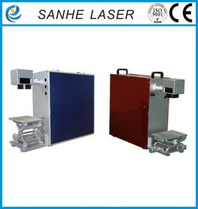 Portable Fiber Laser Marking Machine Marke Car Accessories and Cutlery pictures & photos
