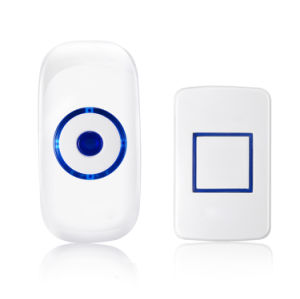 Home Security Wireless Doorbell with EU Plug 36 Chimes LED Flashlight pictures & photos
