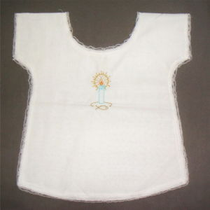 High Quality 100% Cotton Baby Baptismal Dress Baptismal Bib pictures & photos