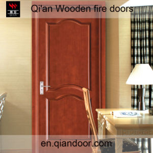 Sapele Veneer Wooden Fire Door pictures & photos