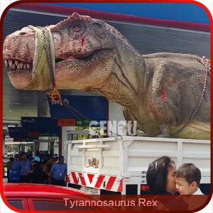 Jurassic Park High Simulation Life Size Dinosaur pictures & photos