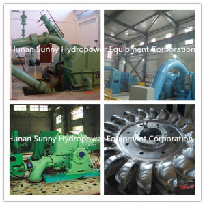 Pelton Hydro (Water) Turbine-Generator High Head (98~600 meter) / Hydropower/Hydroturbine Generator pictures & photos