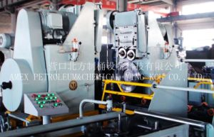 Production Equipment High Speed 7-8PCS/Min. Steel Drum Edge-Curling/Seaming Machine pictures & photos