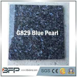 Blue Pearl Polished/Flamed Tile Granite Stone for Bathroom Floor pictures & photos