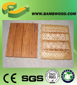 Strand Woven Bamboo Deck Tile in China pictures & photos