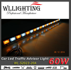 LED Traffic Directional Vehicle Warning Light Amber White pictures & photos