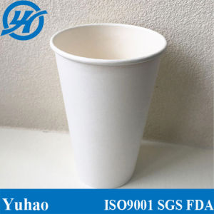 Recycled PLA Coating Printed Logo Disposable Paper Coffee Cup pictures & photos