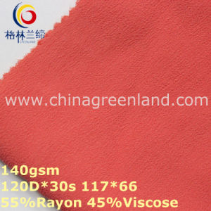 Plain Dyeing Rayon Viscose Chiffon Fabric for T-Shirt Garment (GLLML313) pictures & photos