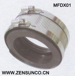 Type D Coupling High Quality Galvanized Steel Hose Clamp pictures & photos