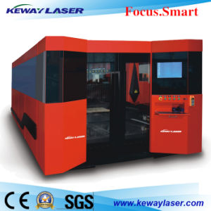 Ipg/Raycus 1000W Fiber Laser Cutting Machine with Enclosure and Exchanging Pallet pictures & photos