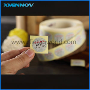 Printable Round Writing RFID Anti-Theft Wine Sticker