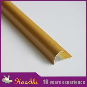 Round Open Type Aluminum Extrusion Edge Profiles (HSRO-250) pictures & photos