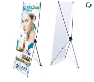 High Resolution Vinyl Poster Aluminum X Banner Stand pictures & photos