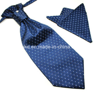 100% Polyester Silk High Quality Hankerchief and Ascot Unique Ties for Men pictures & photos