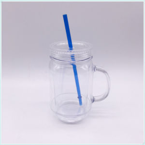 Hot Sale Plastic Starbucks Tumbler Cup with Straw (SH-PM38) pictures & photos