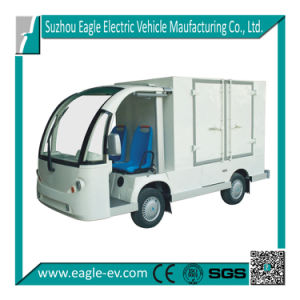 Electric Utility Vehicle, Eg6088t for Food Delivery Service, 72V 5kw, Automatic Drive pictures & photos