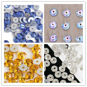 Sew on Rhinestones with Middle Hole pictures & photos