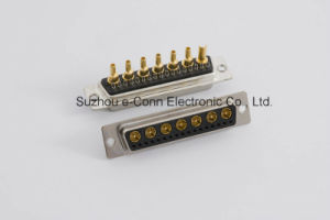 24W7 Female Power & Signal D-SUB Connector Conn Dsub Plug 9POS pictures & photos