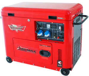 7kVA Air Cooled Silent Type Diesel Generator pictures & photos