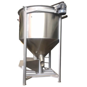 Industrial Vertical Plastic Mixer for Plastic Pellet with Heater pictures & photos
