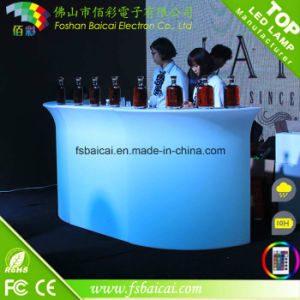 LED Furniture/LED Table/LED Illuminated Furniture Bar Table/LED Party Furniture pictures & photos