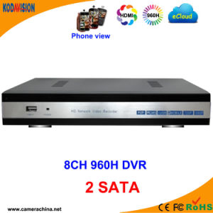 8 Channel H. 264 DVR HDD SATA CCTV pictures & photos