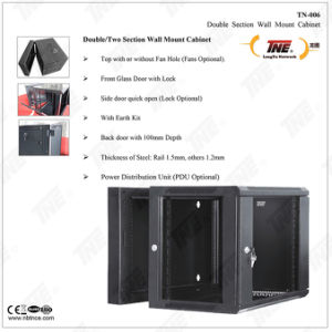 Model No. Tn-006 19′′ Double Section Wall Mount Cabinet (TN-006) pictures & photos